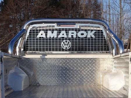 Volkswagen Amarok 2016- Защитный алюминиевый вкладыш в кузов автомобиля (комплект)